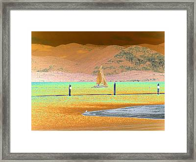 Ride The Wind Framed Print by Peter  McIntosh