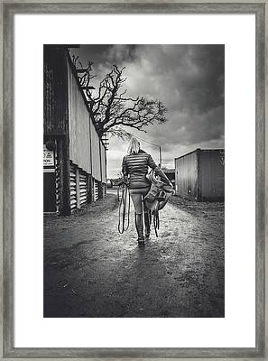 Ride Time Framed Print by Samuel Whitton