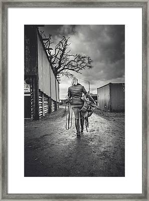 Ride Time Framed Print