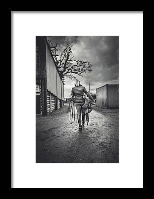 Warmblood Horse Framed Prints