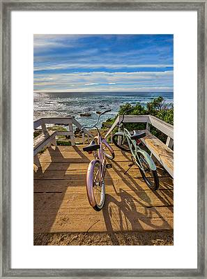 Ride With Me To The Beach Framed Print by Peter Tellone