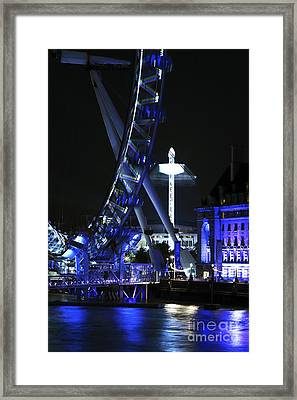 Rides In London Framed Print