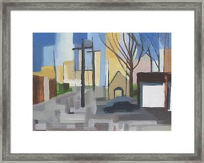 Ridgefield Again Framed Print