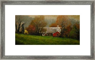 Ridgefield Farm Framed Print by Jim Gola