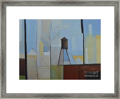 Ridgefield Framed Print by Ron Erickson