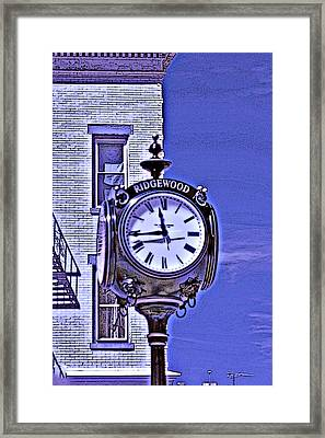 Ridgewood Time Framed Print by Dimitri Meimaris