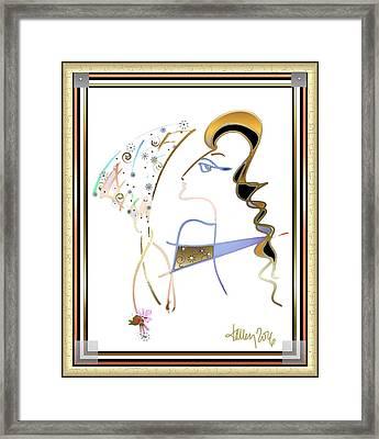 Ridicule - Madame De Blayac Framed Print