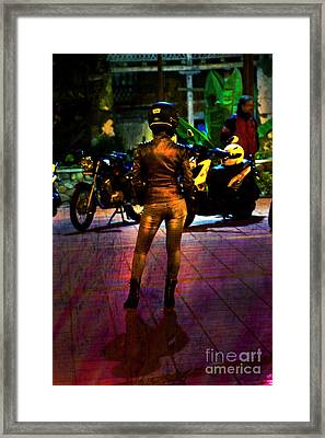 Framed Print featuring the photograph Riding Companion II by Al Bourassa