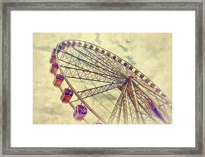 Riding High Framed Print by Kathy Jennings
