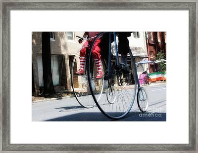 Riding High Framed Print by Steven Digman