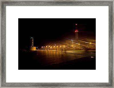 Framed Print featuring the photograph Riding Station, Tel Aviv by Dubi Roman