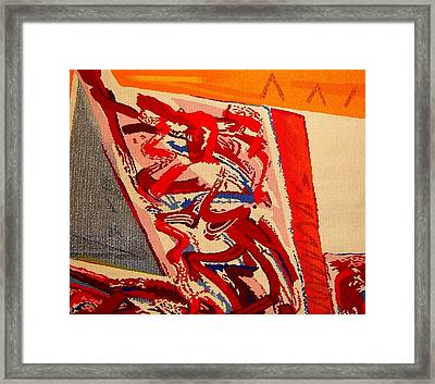 Riding The D Train Framed Print by Dick Sauer
