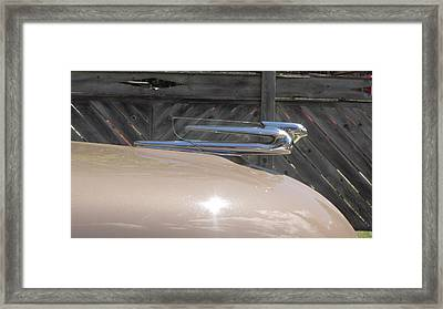 Riding The Wind Framed Print by Bill Tomsa