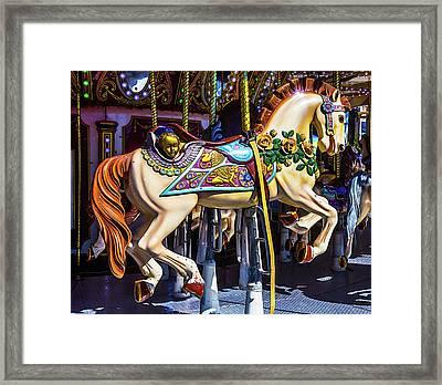 Riding Through Childhood Framed Print by Garry Gay