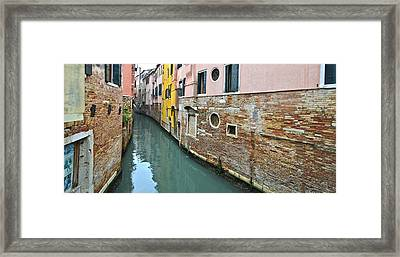 Riellos Of Venice Framed Print