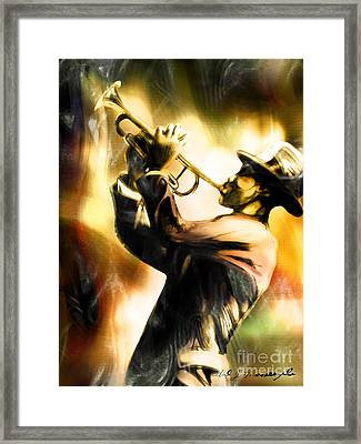 Riff Framed Print by Mike Massengale