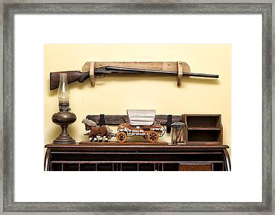 Rifle Framed Print