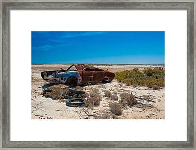 Rifle Range Framed Print by Tim Nichols