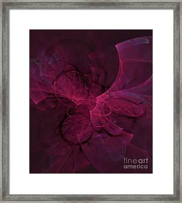 Rift In Space Framed Print