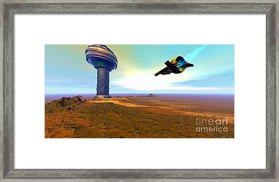 Rigel 7 Framed Print by Corey Ford