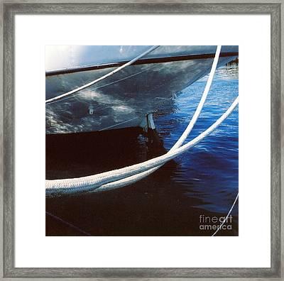 Rigging Framed Print by Andrea Simon