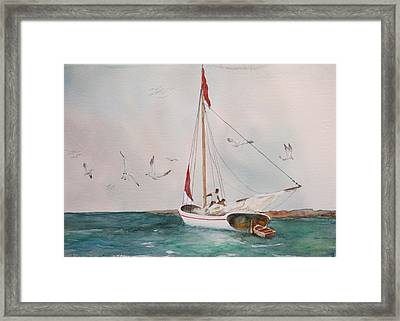 Rigging Trouble Framed Print by Bobby Walters
