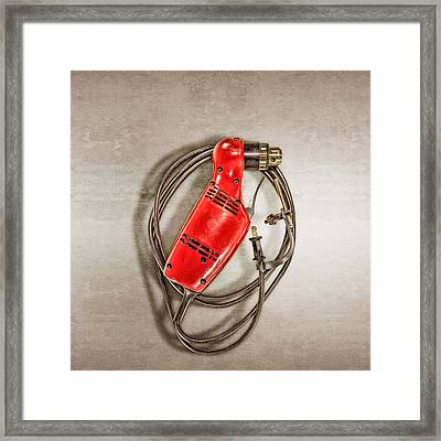 Right Angle Drill Framed Print