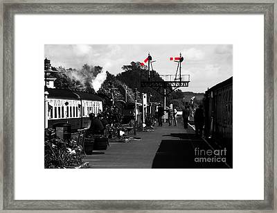 Right Away Framed Print by Rob Hawkins