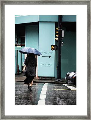 Right  Framed Print by Empty Wall