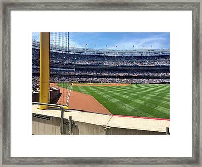 Yankee Stadium_right Field2 Framed Print by All Island Promos