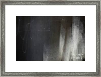 Right Light Framed Print