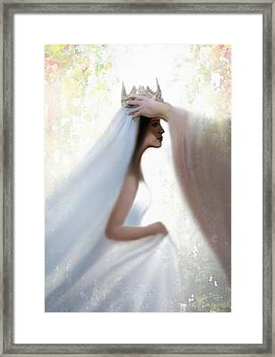 Righteous Crown Framed Print