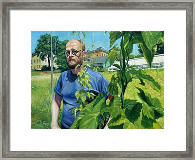 Righteous Hops Framed Print by Gregg Hinlicky