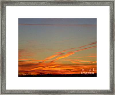 Righteous Path Framed Print
