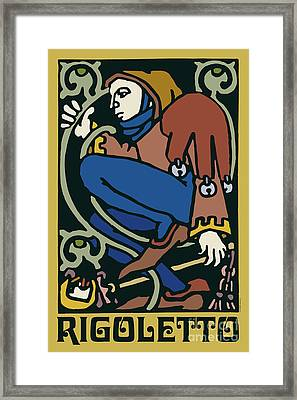 Rigoletto Framed Print