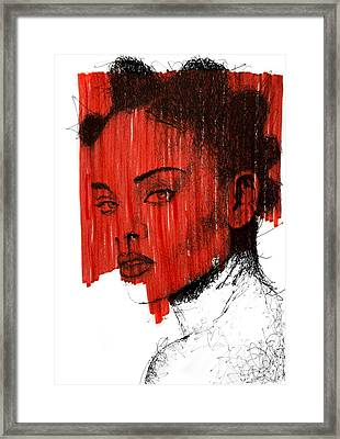 Rihanna Anti Framed Print