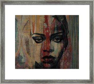 Rihanna - Diamonds Framed Print