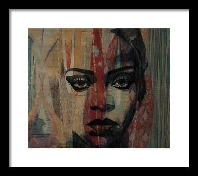Rihanna Framed Prints