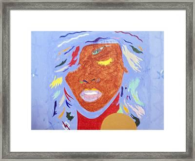 Rihanna Loud Framed Print by Stormm Bradshaw