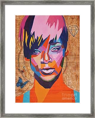 Rihanna  Framed Print by Venus