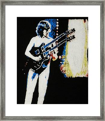 Rik Emmett Framed Print by Grant Van Driest