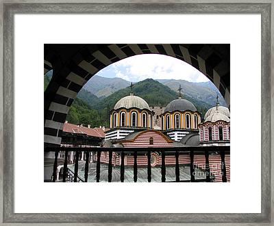 Rila Monastery Framed Print by Iglika Milcheva-Godfrey
