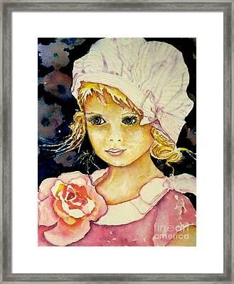 Riley Framed Print by Norma Boeckler