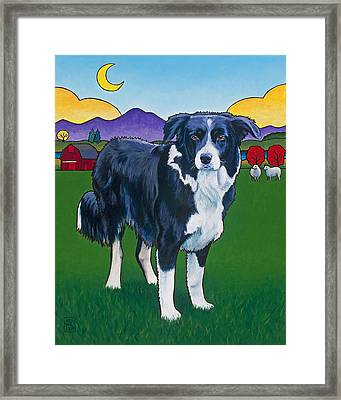 Riley Framed Print