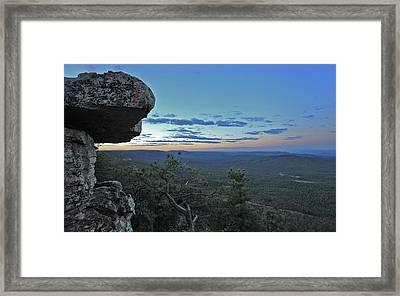 Rim Daybreak Framed Print by Gary Kaylor