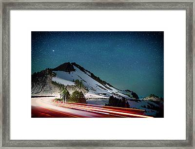 Rim Drive Framed Print by Cat Connor