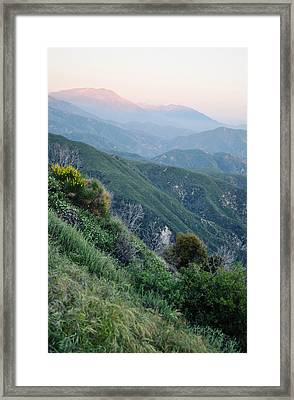 Framed Print featuring the photograph Rim O' The World National Scenic Byway II by Kyle Hanson
