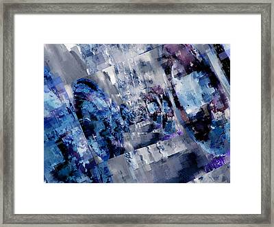 Rim Shots Framed Print