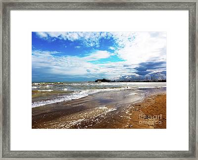 Rimini After The Storm Framed Print