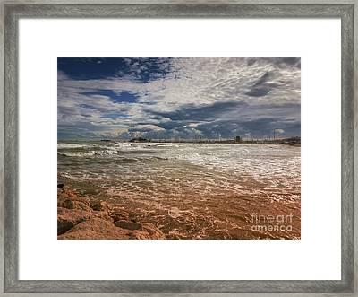 Rimini Storm Framed Print